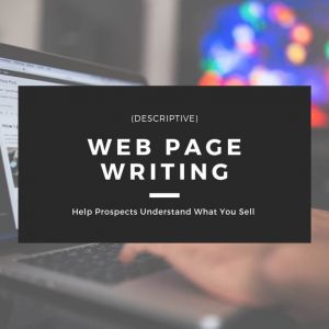 Web Page Writing Service