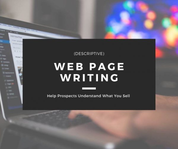 Web Page Writing - Descriptive