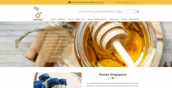 Website Writing Package - S&N Honey House - Home Page Overview - 131219