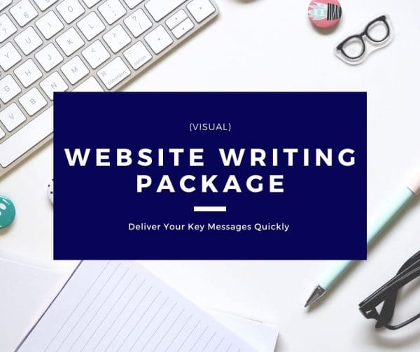 Website Writing Package - Visual