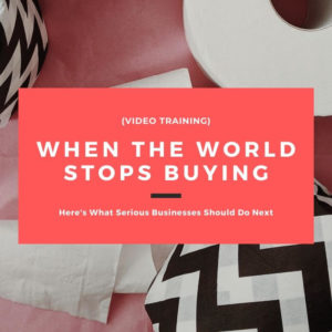 When the World Stops Buying