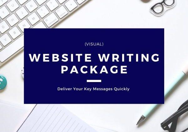 Website Writing Package - Visual
